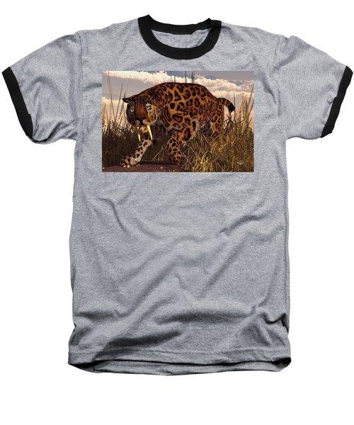 Sabertooth Baseball T-Shirt