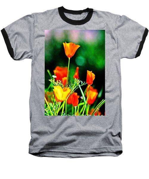 Sacramento Delta Poppies Baseball T-Shirt