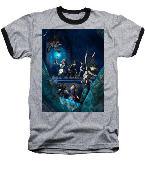 Sacred Burial Chamber Baseball T-Shirt