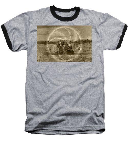 Sacred Rabbit Baseball T-Shirt by Deprise Brescia
