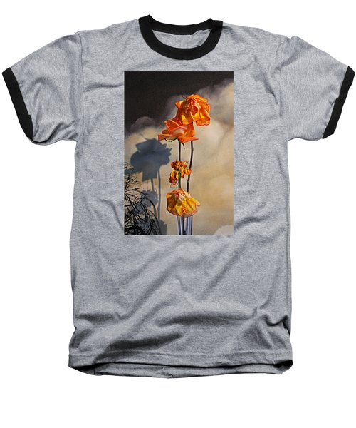 Baseball T-Shirt featuring the photograph Sad To See You Go by John Stuart Webbstock