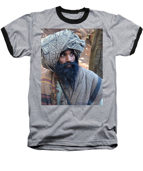 Sadhu At Amarkantak India Baseball T-Shirt