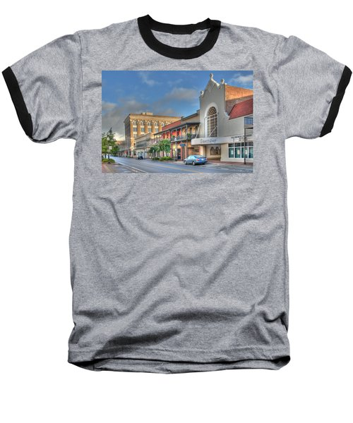 Saenger Theater Baseball T-Shirt