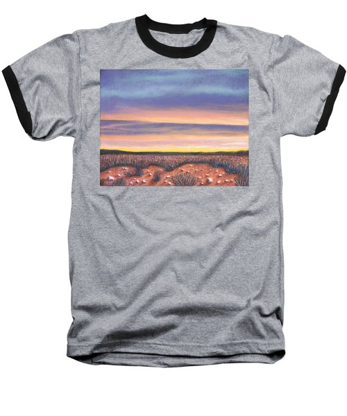 Sagebrush Sunset A Baseball T-Shirt