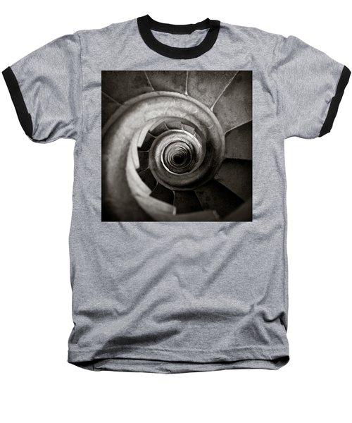 Sagrada Familia Steps Baseball T-Shirt