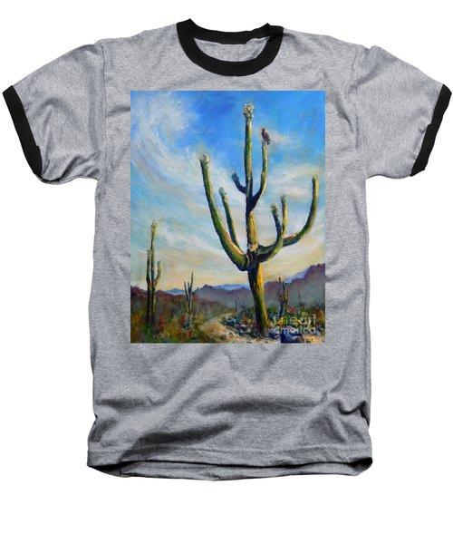 Saguaro Cacti Baseball T-Shirt