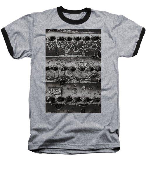 Saguaro Cactus Black And White 2 Baseball T-Shirt