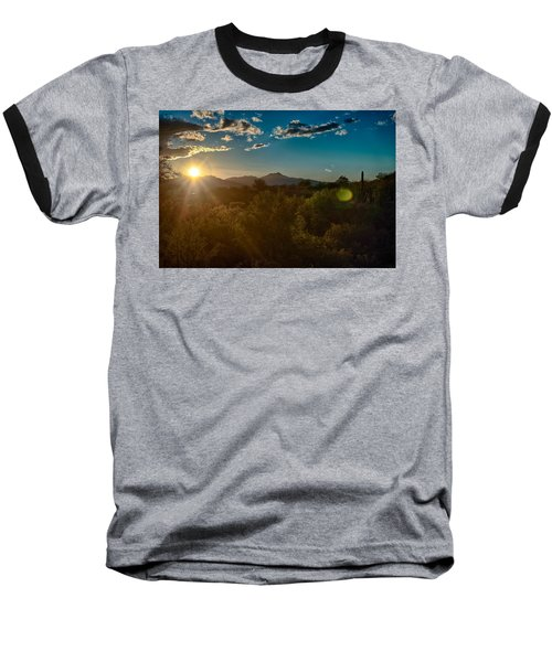 Baseball T-Shirt featuring the photograph Saguaro National Park by Dan McManus