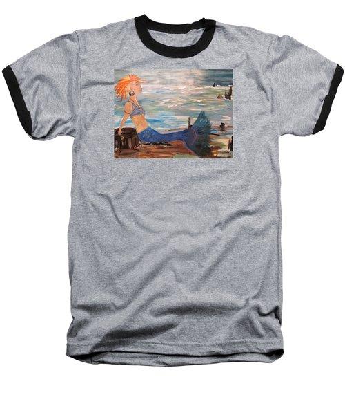 Sahbreena Punk Mermaid Baseball T-Shirt