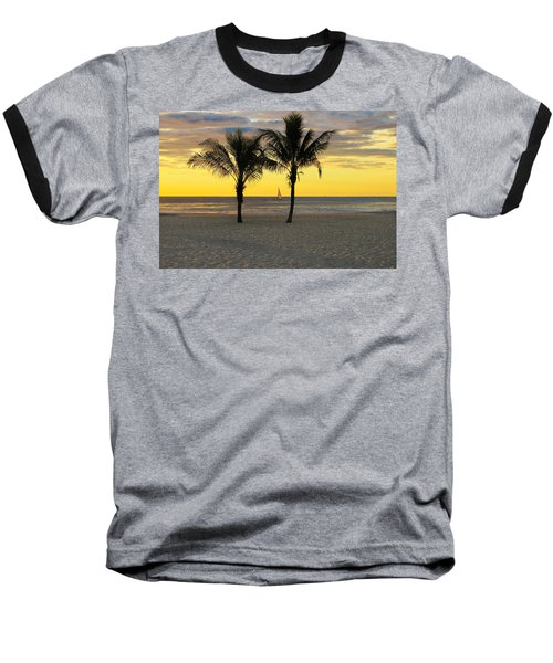 Sail Away At Dawn Baseball T-Shirt