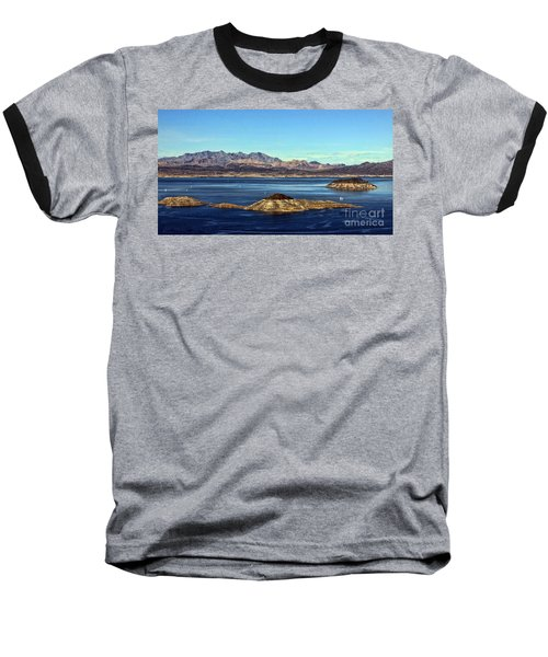 Baseball T-Shirt featuring the photograph Sail Away by Tammy Espino