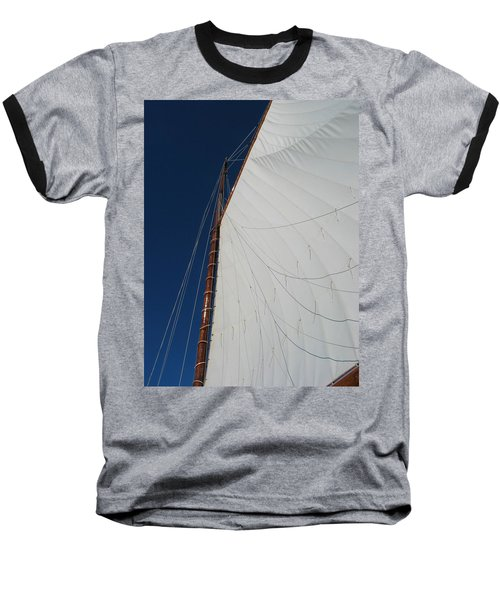 Baseball T-Shirt featuring the photograph Sail Away With Me by Photographic Arts And Design Studio