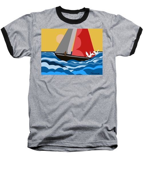 Sail Day Baseball T-Shirt