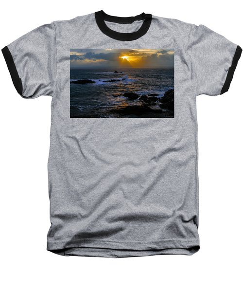 Sail Rock Sunrise Baseball T-Shirt