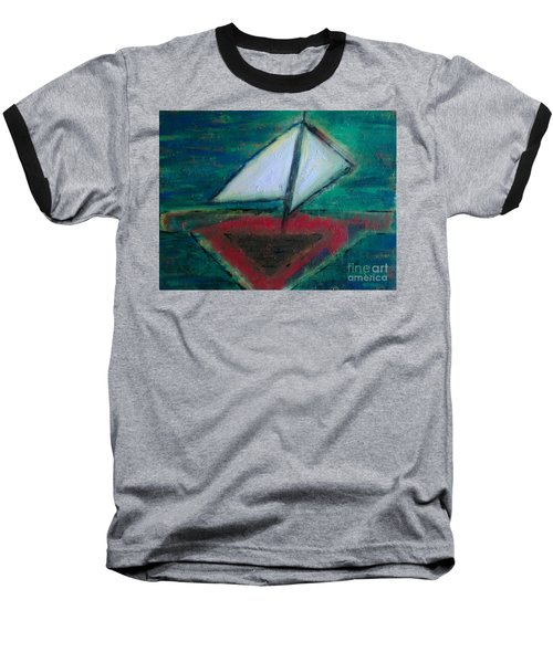 Sailboat Baseball T-Shirt