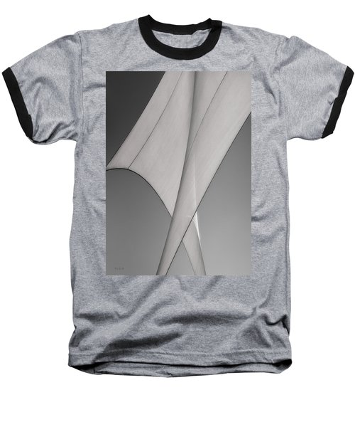 Sailcloth Abstract Number 3 Baseball T-Shirt