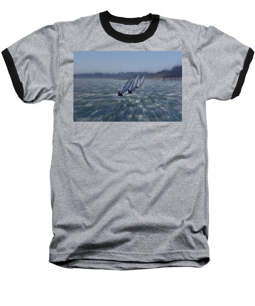 Sailing Boats Racing Baseball T-Shirt