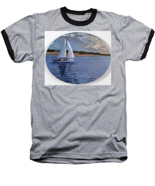 Sailing Homeward Bound Baseball T-Shirt
