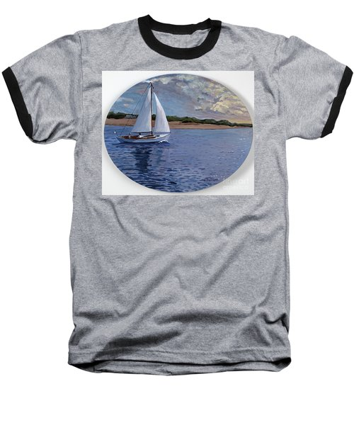 Sailing Homeward Bound Baseball T-Shirt