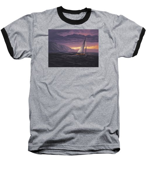 Sailing In Paradise - Big Sur Baseball T-Shirt