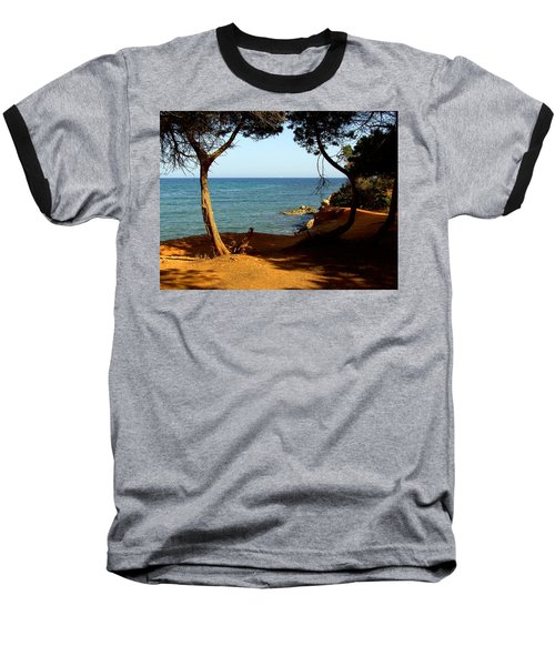 Sailing In Solitude Baseball T-Shirt