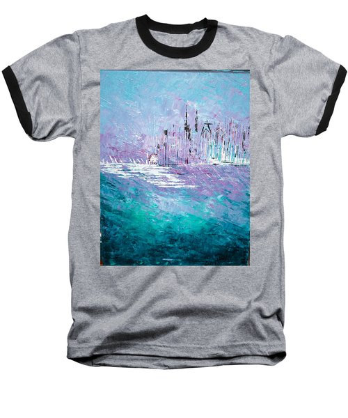 Sailing South - Sold Baseball T-Shirt by George Riney