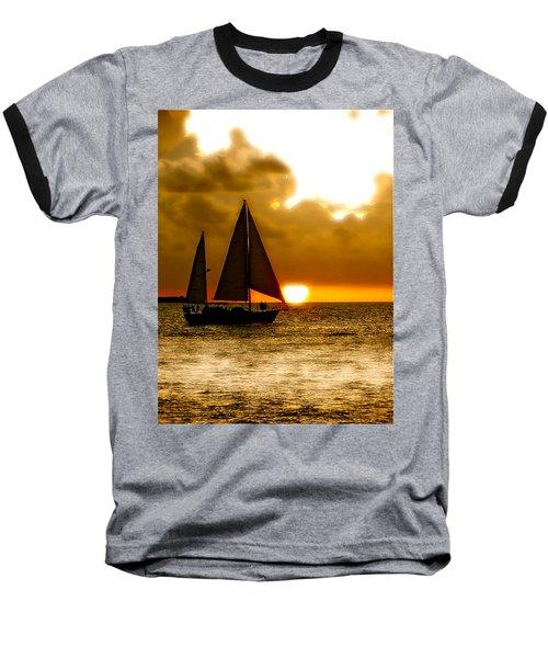 Sailing The Keys Baseball T-Shirt