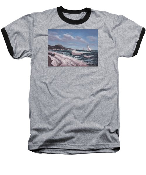 Sailing Toward Point Lobos Baseball T-Shirt