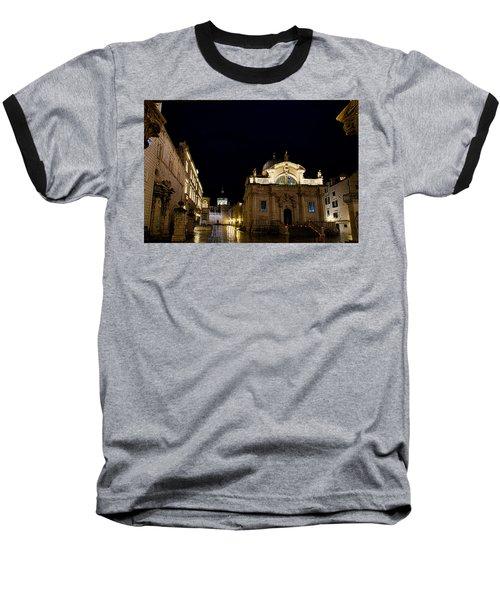 Saint Blaise Church - Dubrovnik Baseball T-Shirt