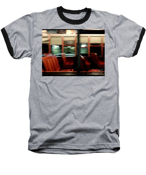 New Orleans Saint Charles Avenue Street Car In New Orleans Louisiana #6 Baseball T-Shirt by Michael Hoard