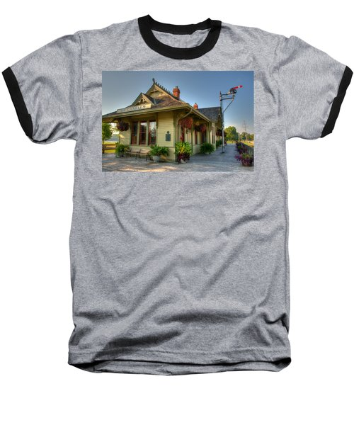 Saint Charles Station Baseball T-Shirt