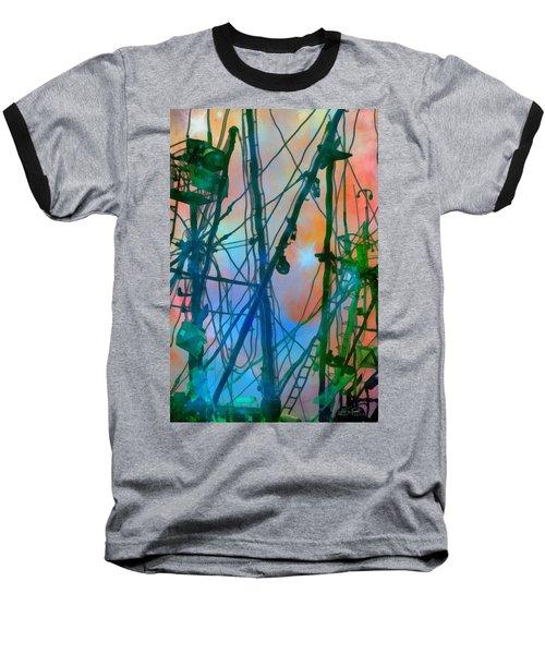 Saint Elmo's Fire Baseball T-Shirt