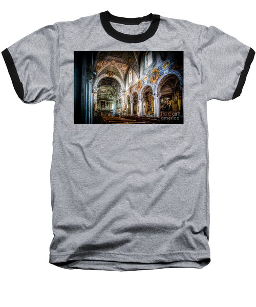 Saint George Basilica Baseball T-Shirt