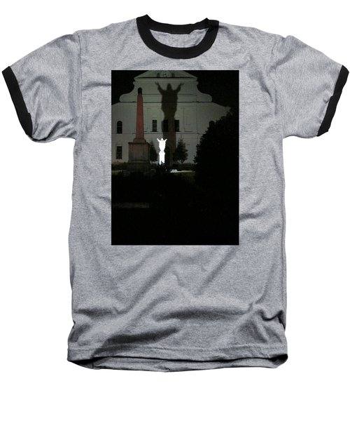 Saint Louis Cathedral Courtyard - New Orleans La Baseball T-Shirt