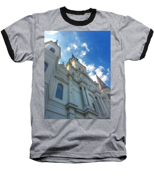 Saint Louis Cathedral  Baseball T-Shirt