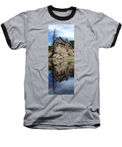 Saint Malo Chapel Baseball T-Shirt