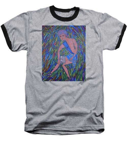 Saint Mark Baseball T-Shirt by Marie Schwarzer