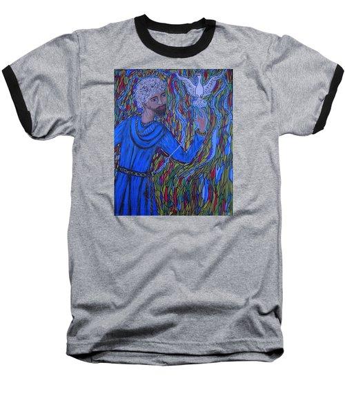 Saint Peter Baseball T-Shirt by Marie Schwarzer