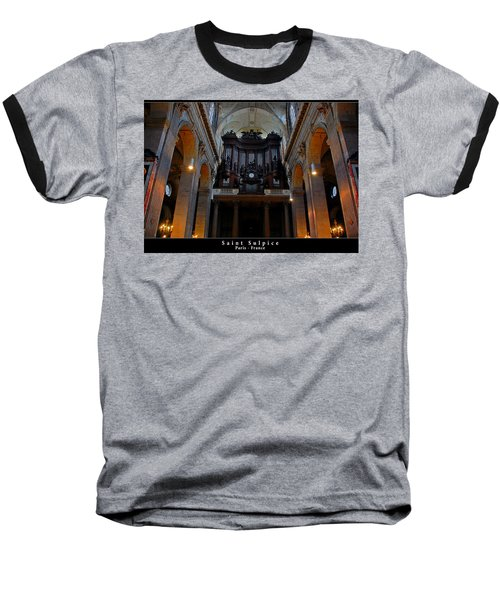 Saint Sulpice Baseball T-Shirt
