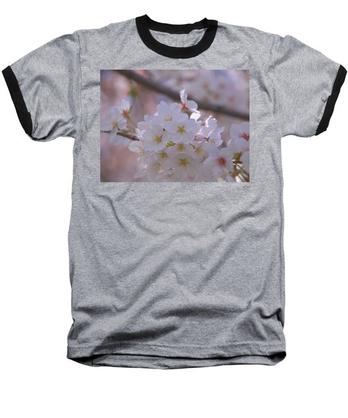 Baseball T-Shirt featuring the photograph Sakura by Rachel Mirror