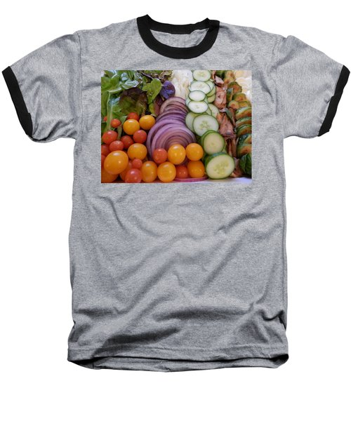 Salad Baseball T-Shirt