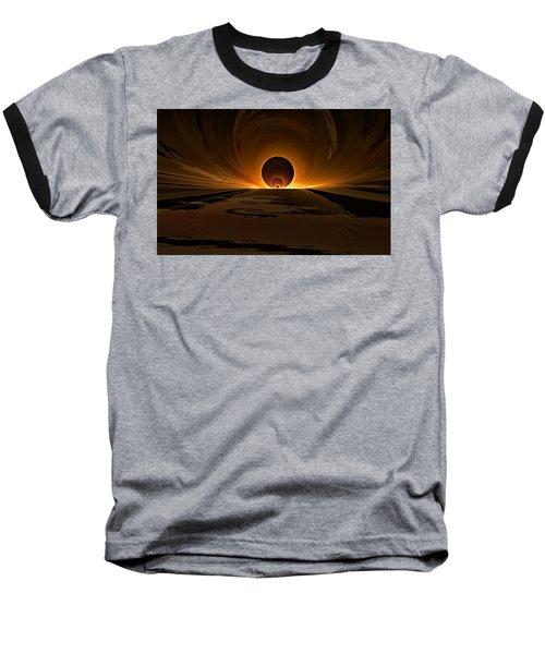 Salsa Sunrise Baseball T-Shirt by GJ Blackman