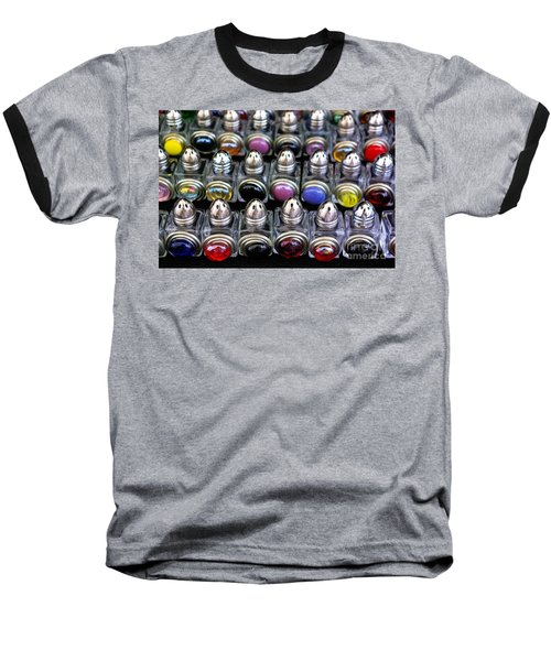 Baseball T-Shirt featuring the photograph Salt And Pepper Soldiers by John S