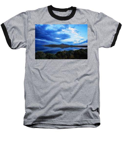 Baseball T-Shirt featuring the photograph Salt Lake Antelope Island by Matt Harang