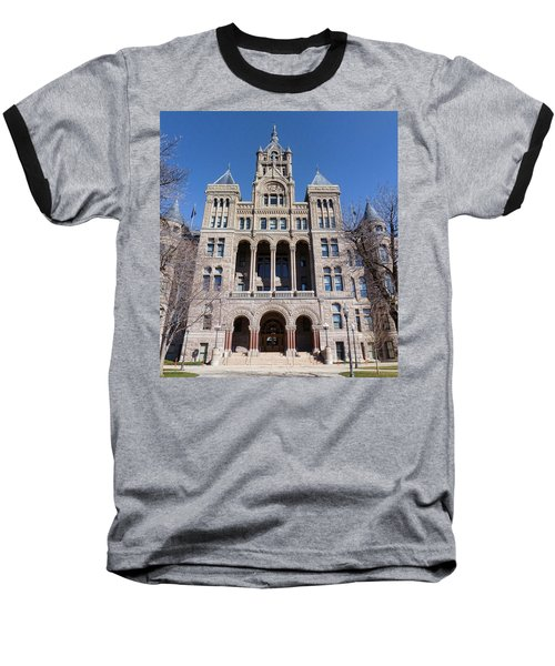 Baseball T-Shirt featuring the photograph Salt Lake City - City Hall - 2 by Ely Arsha