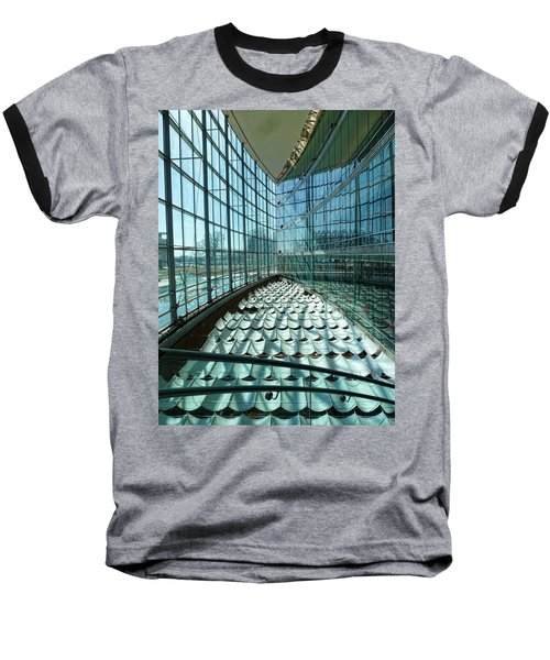 Baseball T-Shirt featuring the photograph Salt Lake City Library by Ely Arsha