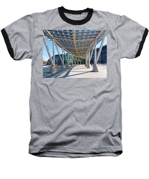 Baseball T-Shirt featuring the photograph Salt Lake City Police Station - 2 by Ely Arsha