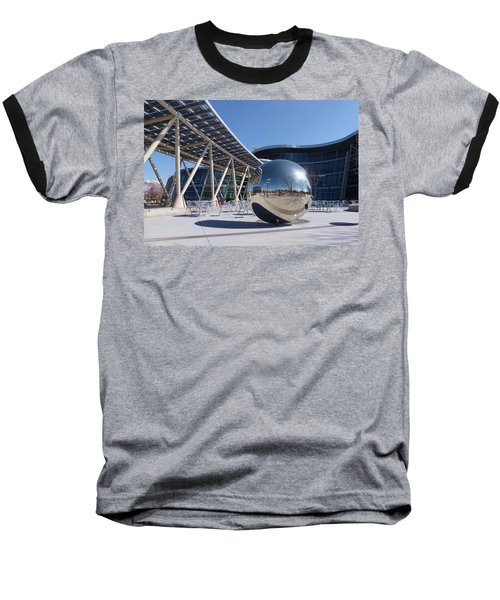 Baseball T-Shirt featuring the photograph Salt Lake City Police Station - 1 by Ely Arsha
