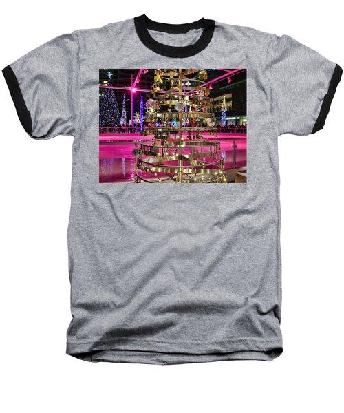 Baseball T-Shirt featuring the photograph Salt Lake City - Skating Rink - 1 by Ely Arsha