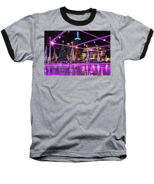 Baseball T-Shirt featuring the photograph Salt Lake City - Skating Rink - 2 by Ely Arsha